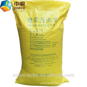 Corn gluten animal feed
