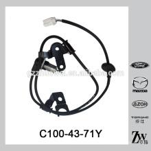 Neuer Ankunftsautomobil-Hinterrad ABS-Sensor C100-43-71Y für Mazda 323 626 CP