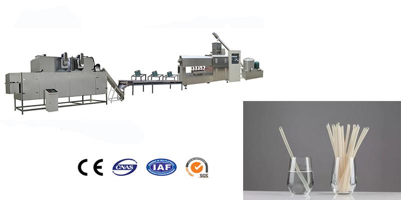 Rice straw processing machine line
