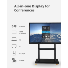 86 Zoll interaktives Touchscreen-Whiteboard