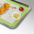 FDA-Set von drei Cookie Back Silikon Pan Mats