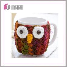 Knitted Coffee Mug Sleeve Warmmer Sweater Mug / Knitted Cup Sleeve