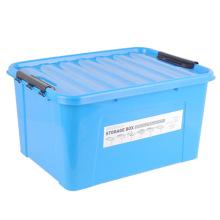 Сплошной цвет HDPE пластиковый ящик для хранения для дома (SLSN054)