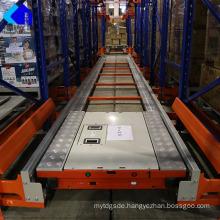 High Denstiy Storage Rack Radio Shuttle Rack Pallet Racking System