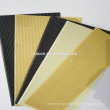Plastic bee foundation