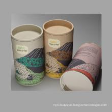 Custom Design Tube Tea Packaging Box/Cylinder Box