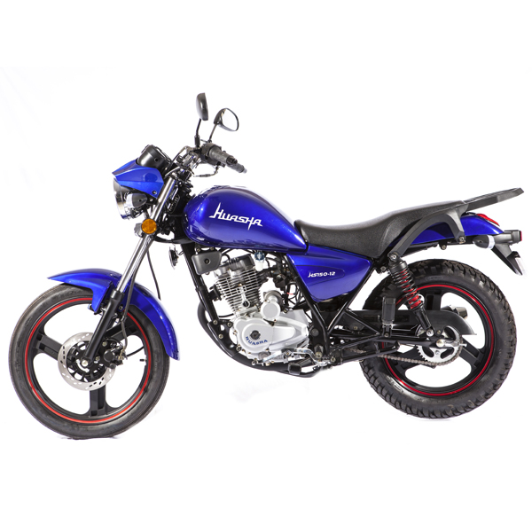 2017 New Model 125CC 150CC 200CC Street Gas Motorcycle Blue Color Changhua Huasha Jinyee