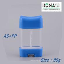 Contenedor transparente del palillo del desodorante del precio 85g de la fábrica
