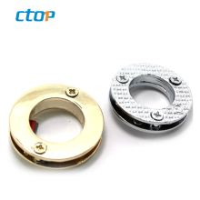 Promotional hardware accessories nickel color oval metal eyelet for sale
