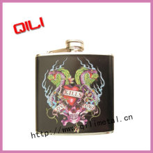 Stainless Steel Flask with water-transferred logo