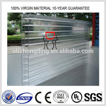 Lexan Polycarbonat transparente Dachplatte