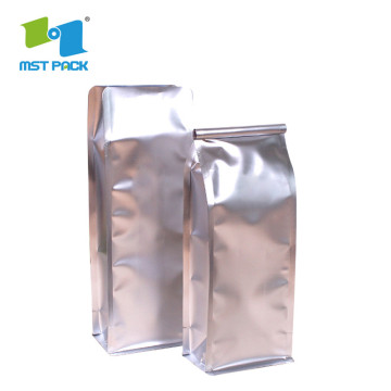 Gred Safety Flat Bottom Aluminum Foil Coffee Packaging