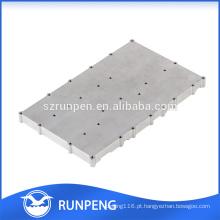 Peças de metal personalizadas italiano de fundição de alumínio radiador