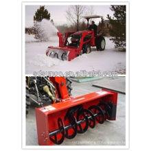 CX130 160 180 210 souffleuse à neige montée à l'avant du tracteur