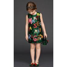 Fashion Baby Dress Frocks in Children Garment