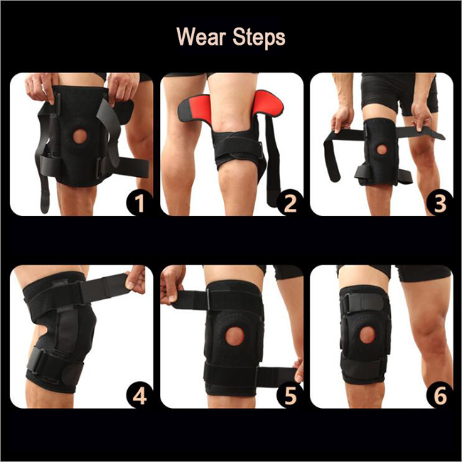 comfortable knee wrap