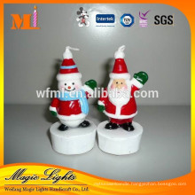 Cute Christmas Candles for Cake Decoration