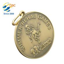 Nuevo producto Excelente calidad Nuevo diseño que hace la producción de la máquina Medalla de premio de metal