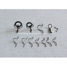 Fly Fishing Rod Gunmetal Snake Guide Set