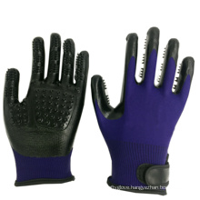 Wholesale Customized BPA Free Dog Hair Removal Gloves