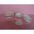 Tambour de forme J037A de pot de crème cosmétique