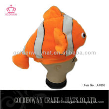 foam animal hats winter hat with fish pattern