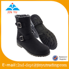 Botas de tacón alto de tacón alto para mujer de Grilsl, botas de rodilla cálidas
