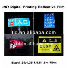 Filme refletivo de impressão digital