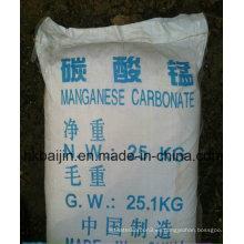 Polvo de carbonato de manganeso de grado industrial