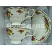 Bonechina Cup&Блюдце