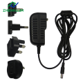 Adaptador de viaje intercambiable de montaje en pared de 12W 24W 12V