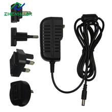 12W 24W Wall Mount Interchangeable 12V Travel Adapter