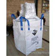 El precio bajo de la alta calidad 1.5 toneladas del bolso a granel llenó el tamaño 110X110X110cm del almidón de maíz