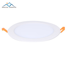 Battery operated round led rechargeable emergency panel light