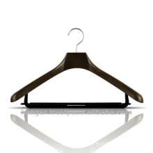 Plastic Jacket Hanger with Trousers Bar for Bedroom Furniture