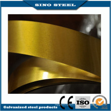 Cans Used Golden Lacquered Tinplate with JIS G3303 Standard