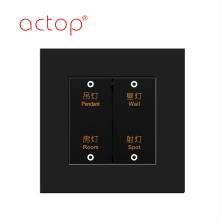Actop Smart Fashion Hotel Switches 2018