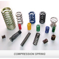 the motorcycles engine springs