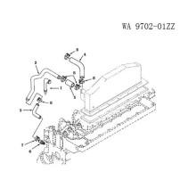 Cummins Engine Spare Parts-Rocker Arm