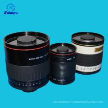 Lentille de miroir de reflex d'argent de 300mm F6.3 pour M4 / 3 micro quatre tiers