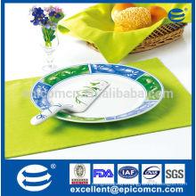 cake sever plate set in ceramic cake set knife set