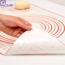 Best Supplier Silicone Baking Mat Oven Safe Kneading Dough Mat Silicone Pastry Mat