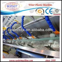 línea de producción suave de la manguera del alambre de acero del PVC