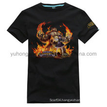 High Quality Customized Cotton Men′s Printed T-Shirt