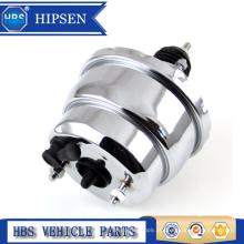 """Universal Hot Rod Street 8 """"duplo diafragma impulsionador de vácuo de freio de cromo"""