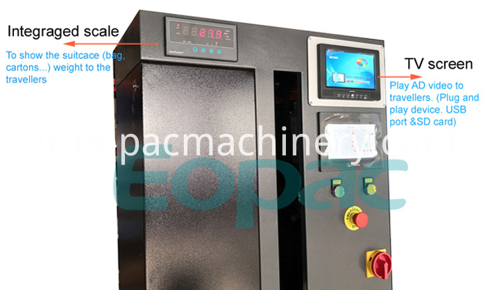 Luggage Wrapping Machine Cost
