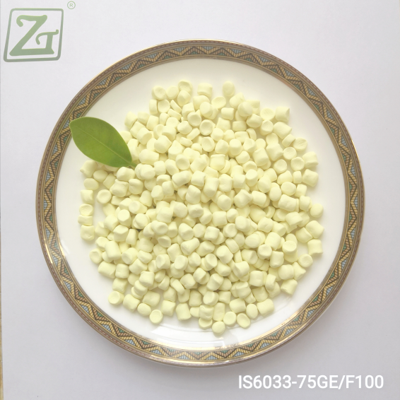 Granular Insoluble Sulfur IS6033 with High Dispersion