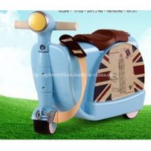 Children Multi - Functional Luggage Car Kids Travel Suitcase