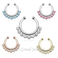 2015 New Arrival Mixed Designs Nose Piercing Body Jewelry Septum