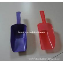 Самая новая миниые лопата еды любимчика пластмассы, игрушка любимчика